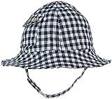 Egg by Susan Lazar Linen Sun Hat, Navy, Small