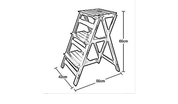 STOOL Asiento pequeño, taburete de zapatos, taburete de bar, taburete de comedor, taburete de restaurante, escalera de mano, silla, mesas y sillas Escalera de escalera plegable Escalera de madera mac: Amazon.es: Bricolaje