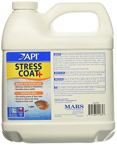 API Stress Coat Water Conditioner 64 fl.oz, Pack of 2 by API