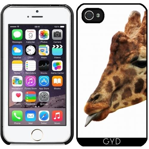 Coque pour Iphone 5/5S - Girafe Faune Afrique Enfants by WonderfulDreamPicture