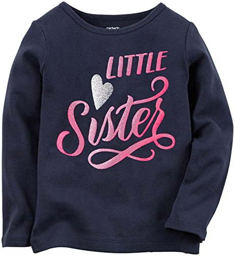 Carter's Baby Girls' Slogan Tee (Baby) - Big Sister - 24M