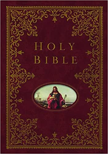 NKJV, Providence Collection Family Bible, Hardcover, Red