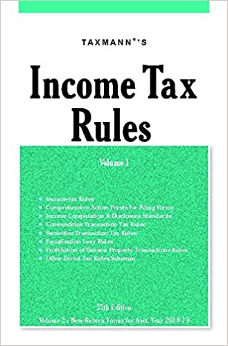 Income Tax Rules with Master Guide to Income Tax Rules (Set of 3 Books) - byTaxmann
