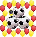 Combined Brands World Cup Soccer Ball Party Supplies Decorations Balloon Theme Bundle For (SPAIN)