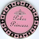Poker Princess Women's Poker Weight Card Guard Cover Chip Coin