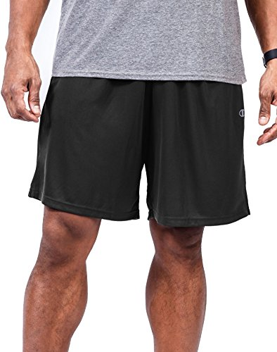 Champion Big Men's Jersey Short,Black,3X Big
