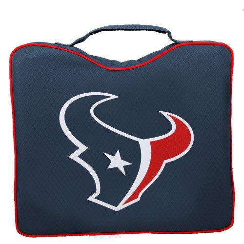 NFL Lightweight Stadium Bleacher Seat Cushion with Carrying Strap, Houston ()