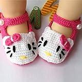 Baby Newborn Infant Girls Crochet Knit Socks