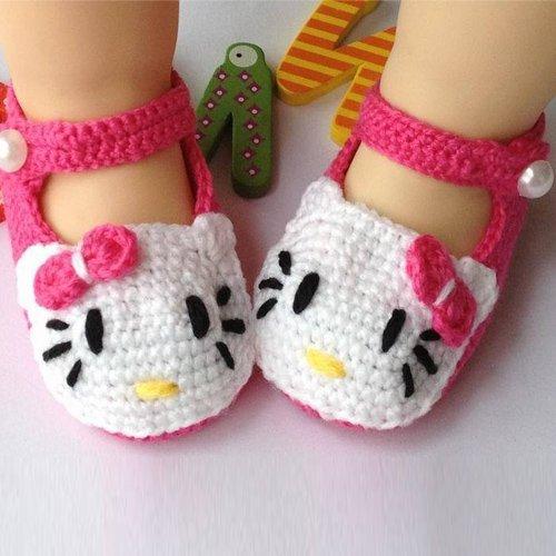 baby-newborn-infant-girls-crochet-knit-socks-sandals-toddler-shoes-prewalker-rose-red-kt-by-coffled