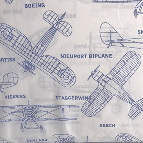 authentic-kids-airplane-blue-print-microfiber-wrinkle-free-sheet-set-twin
