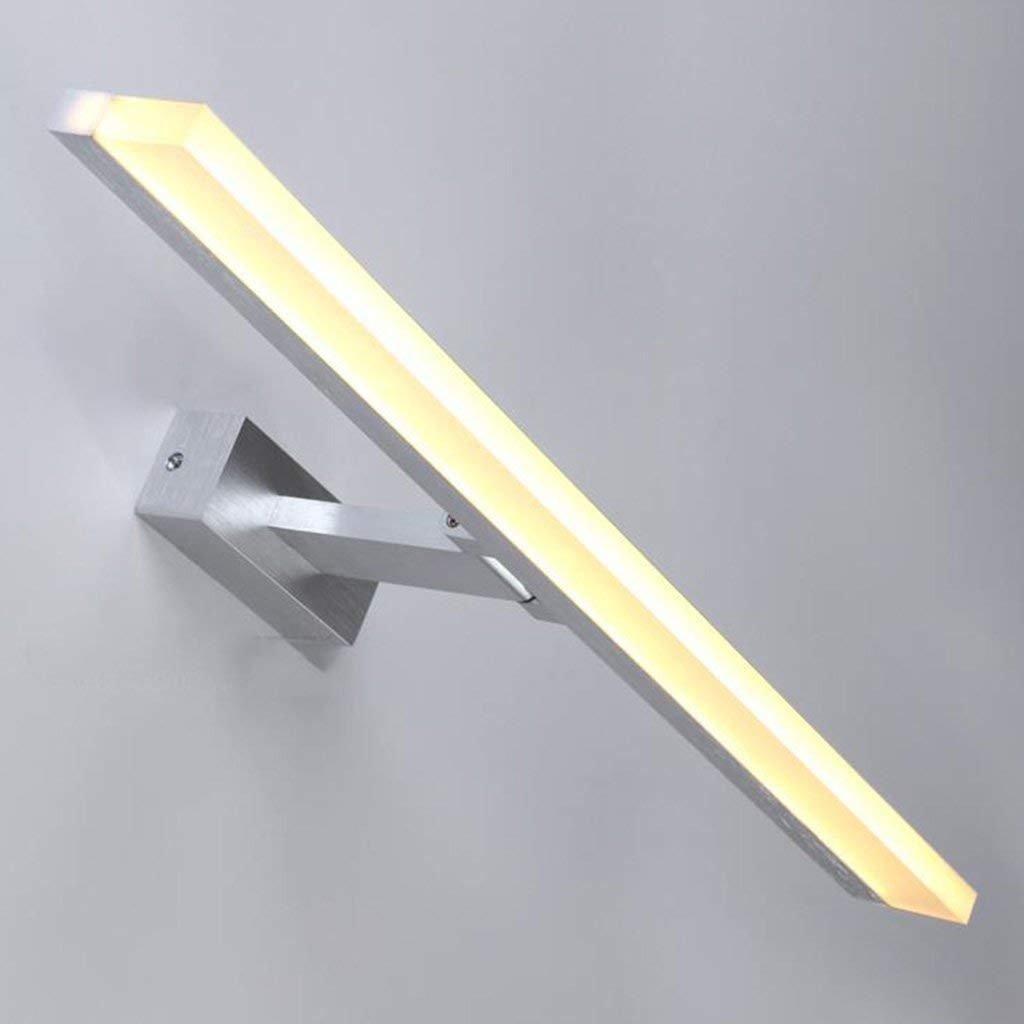 JBP Max Spiegel Licht Bad Light Bathroom LED Spiegelfront Licht Spiegelschrank Licht Auf Und Ab Flip-Einstellung,Warmlight,80  5.5  1CM
