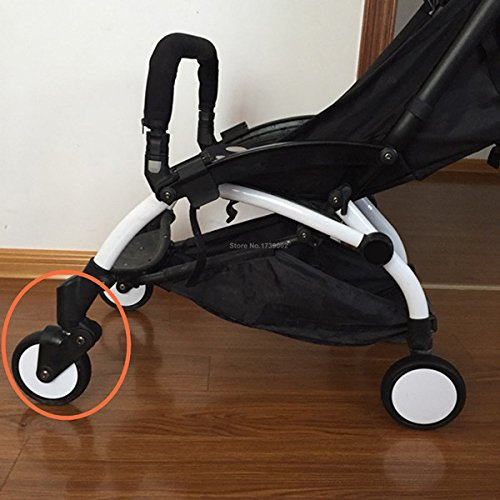 Front Wheels Full Set Replacement for Babyzen YOYO & YOYO+ Stroller by ROMIRUS (Image #1)