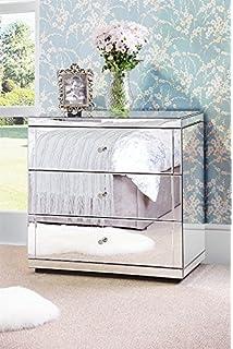 My Furniture Stiletto Verspiegelte Kommode Aus Sicherheitsglas