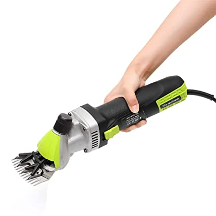 LHC-Timaoji Professional Electric Sheep Shears Goat Clippers,500W & 6 Speed Adjustable,