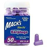 Mack's Slim Fit Soft Foam Earplugs, 50 Pair - Small