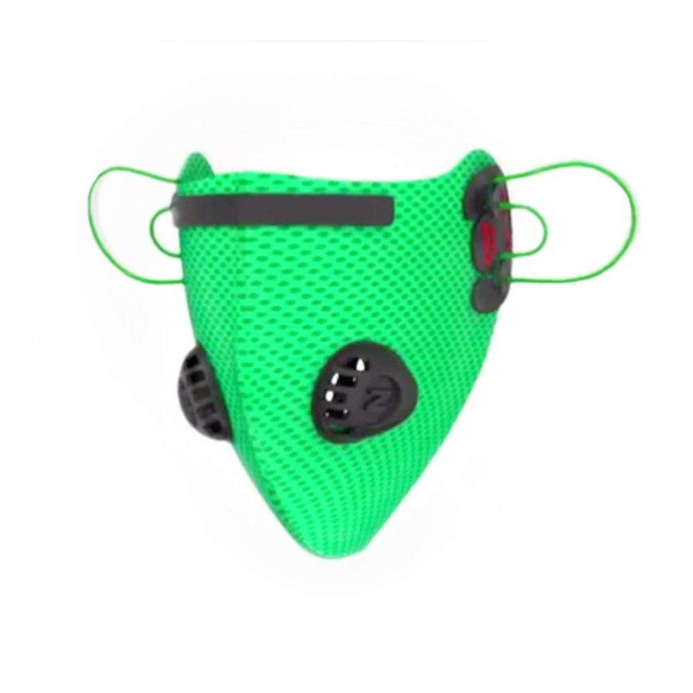 [ Neo ] Fine Dust anti-pollutionマスク、[グリーン] 5層調節可能洗濯可能メッシュ保護マスクフェイスマスクfor fine dustパーティクル – Perfect for Cityサイクリング、ジョギング、アレルギー、花粉and More 。 B07621LBJJ