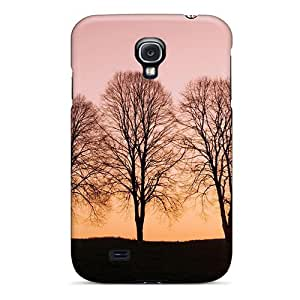 New Style Case Cover VLIVTEW8621ZMUiO Trees At Sunset Compatible With Galaxy S4 Protection Case