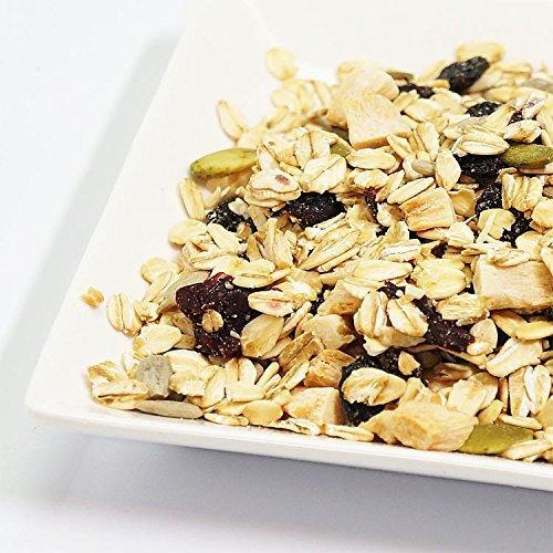 Secada al natural 1kg muesli de frutas (2X500g) Reino Unido productoras de harina de