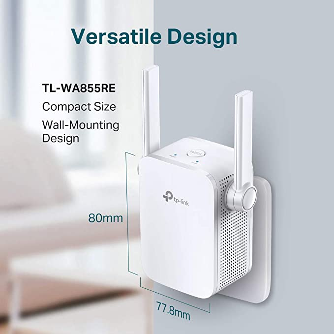 Tp Link Tl Wa855re Wlan Repeater Weiß Computer Zubehör