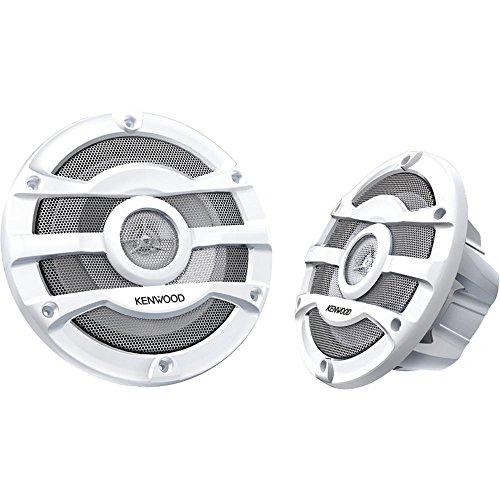 2-kenwood-8-inch-300-watt-powersports-marine-boat-white-speakers-kfc-2053mrw