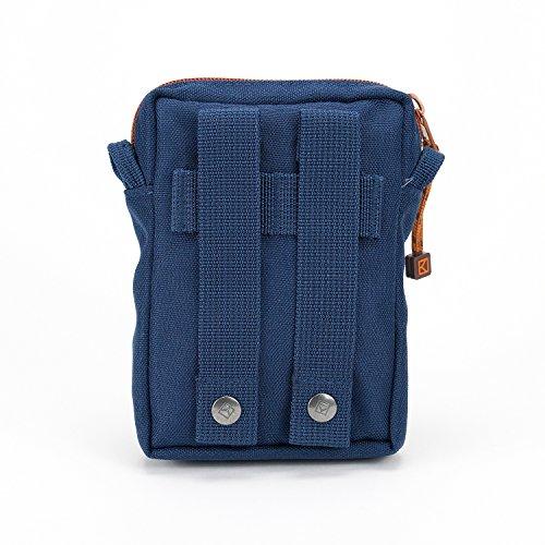 KUTS - Bolso al hombro para hombre azul