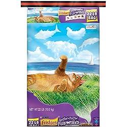 Purina Friskies Surfin' & Turfin' Favorites Adult Dry Cat Food - 22 Lb. Bag