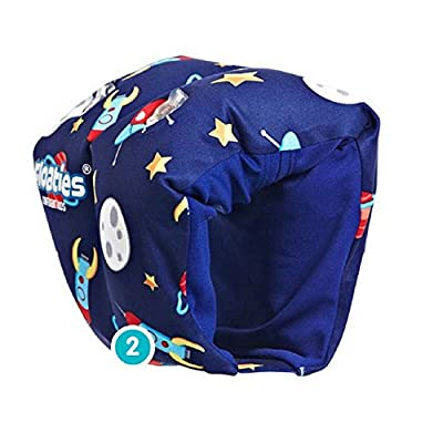 Floaties The Original Armbands Blue Rockets - Medium: Toys & Games