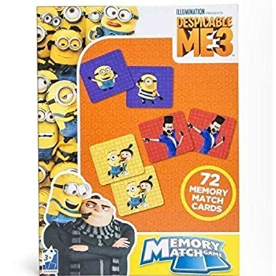 Universal & Cardinal Despicable Me 3 Memory Match Game: Toys & Games