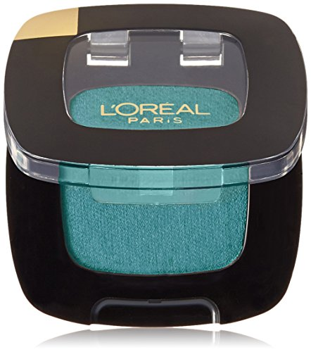Teal Makeup (L'Oréal Paris Colour Riche Monos Eyeshadow, Teal Couture, 0.12)
