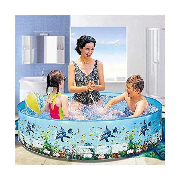Yankuoo Piscina gonfiabile di grandi dimensioni per adulti e bambini piscina piscina piscina all'aperto coperta vasca… 3 spesavip