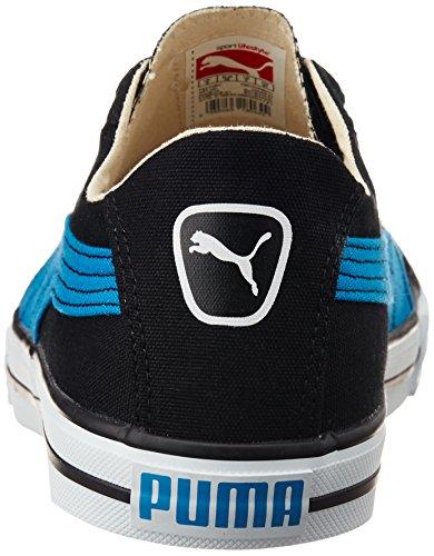 Puma Mens 917 Lo DP Black Cloisonn Mesh Canvas Shoe