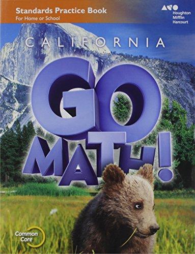 Houghton Mifflin Harcourt Go Math! California: Practice Workbook Grade 2