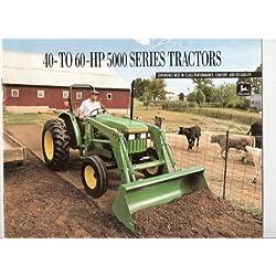 John Deere 40 to 60 HP 5000 Series Tractors