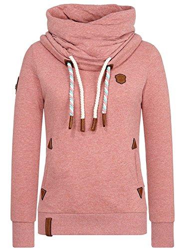 Foggy W Reorder Sweater Melange Naketano Rose VIII 4naq8aOxF