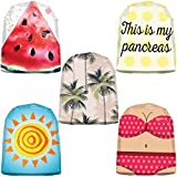 Insulin Life 20 Pack Omnipod Adhesive Stickers - Accessory Patch for Omnipod - Summertime Designs