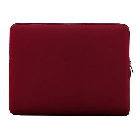 """LSS LSS Suave Caso Bolsa Portatil Cremallera para 14 Pulgadas 14 """" Ultrabook Laptop Cuaderno"""