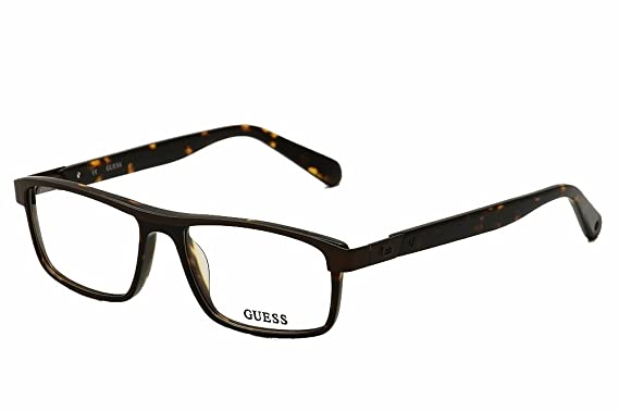 b2dcc6676aa GUESS Eyeglasses GU 1792 Tortoise 54MM at Amazon Men s Clothing ...