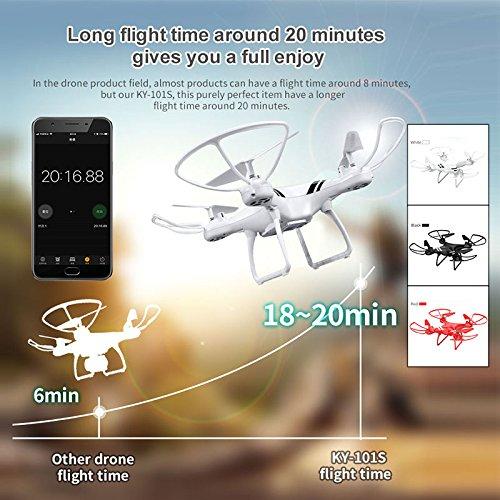Gulin Quadcopter Höhenlage, 2,4 Jungen GHz 6-Achsen-Gyro, für Jungen 2,4 und Mädchen 183694