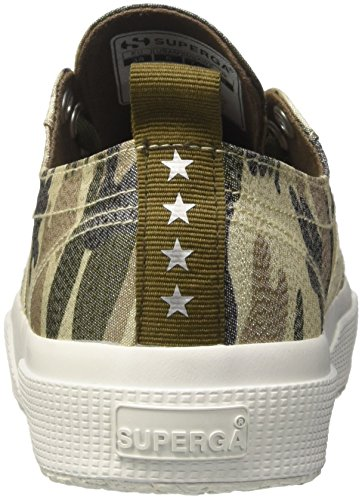 Superga lamecamow Camouflage Donna Sneaker 2750 Silver SUnSq8r