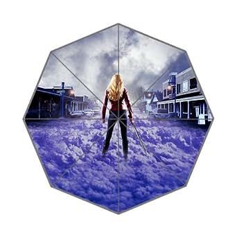 Once Upon A Time Custom Auto Foldable Rain Umbrella Wind Resistant Windproof Floding Travel Umbrella