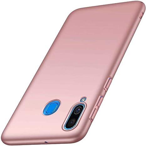 Funda Samsung Galaxy A40 Caja Caso MUTOUREN PC Carcasa Anti-Scratch Anti-rasguños Bumper Protectora de teléfono Case Cover para Samsung Galaxy A40 (Oro Rosa): Amazon.es: Electrónica