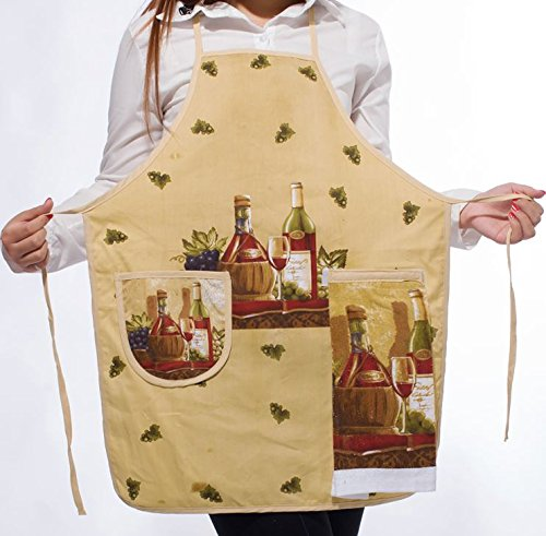 napkins assorted colors Korean Cute Floral Print Women Sleeveless Aprons Kitchen Anti-oil Cooking Apron with Hand Towel napkins cloth (A2)