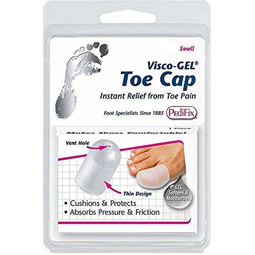 Pedifix Visco-gel Toe Cap (Pack of 2) (Gel Toe Pedifix Cap Visco)