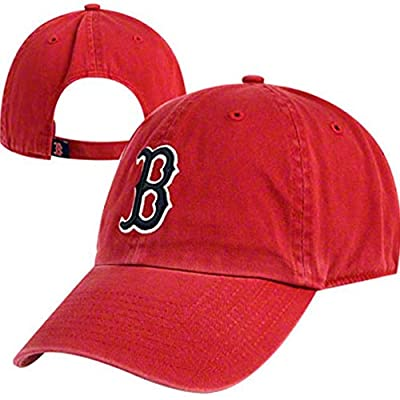 47 Brand Red Sox Garmet Washed Red Cap Red