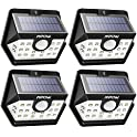 4 Pk Mpow 20 LED Motion Sensor Outdoor Lights
