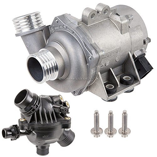 08 x5 bmw water pump replacement - 8