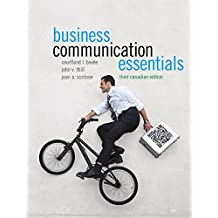 Business Communication Essentials, Third Canadian Edition Plus MyBCommLab Pegasus with Pearson eText -- Access Card Package (3rd Edition)