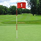KINGTOP Golf Flagsticks Pro, Putting Green Flags