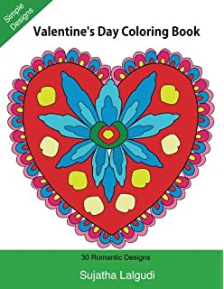 Adult Coloring Book: 30 Valentine\'s Day Coloring Pages (I Love You ...