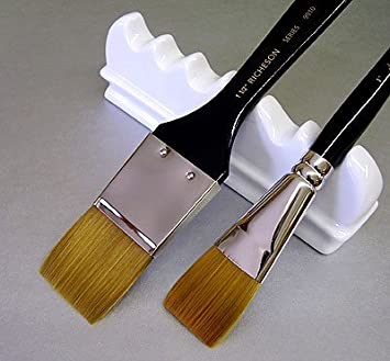 Size 1 Jack Richeson 9000 Series Synthetic Short Handle Watercolor Round Brush